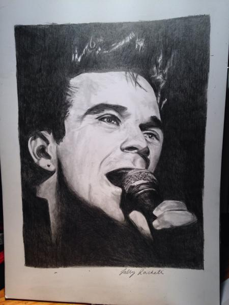Robbie Williams by mustangsal
